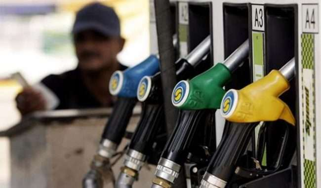 petrol diesel rapetrol price decrease by 25 paise and diesel reduce by 18 paisete increase