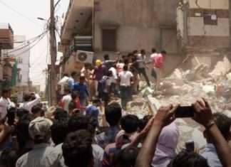 Rajasthan building collapsed
