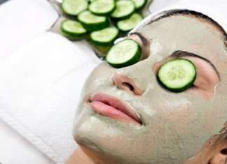 cucumber face pack