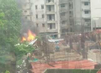 Chartered Plane Crashed In Mumbai