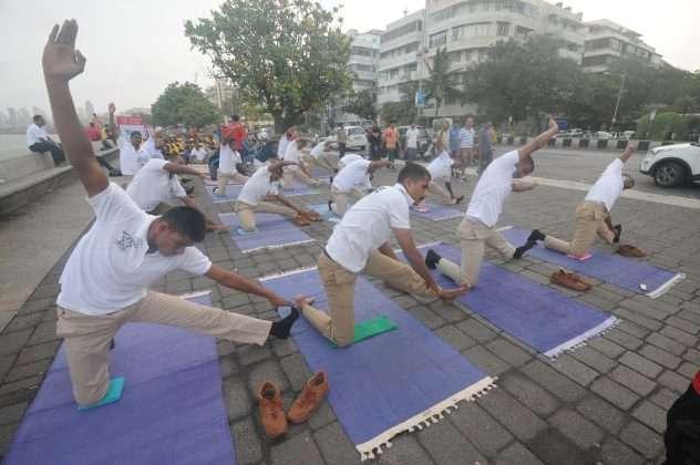 marine drive in yoga