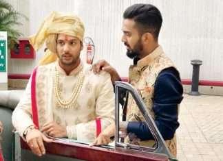 k l rahul in mayank Agarwals wedding