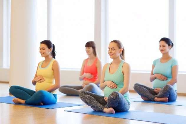 yoga tips for pregnant women