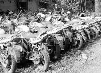 thane police bikes