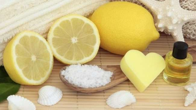 lemon juice sugar