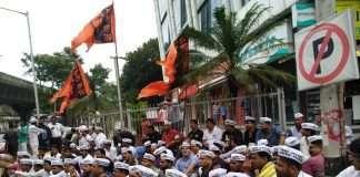maratha protest in mumbai