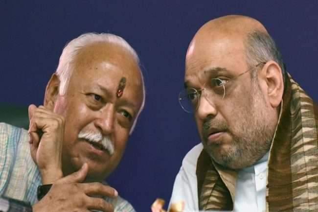 amit shah and mohan bhagwat