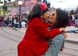 Aishwarya Rai Bachchan aradhya Disneyland