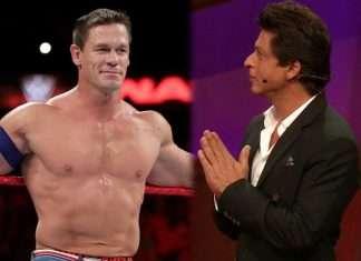 SRK with John cena
