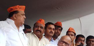 Sharad Pawar in Kolhapur