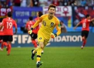 korean goalkeeper