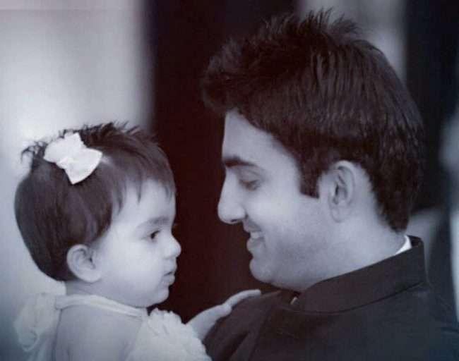 gautam with his daughter