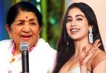 I'd like to sing for Janhvi Kapoor: Lata Mangeshkar