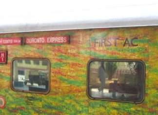 duronto express robbery