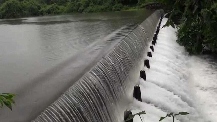 tulasi lake overflows