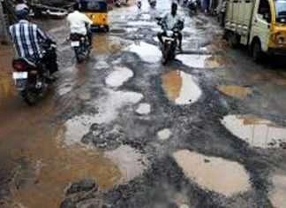 Mumbai potholes