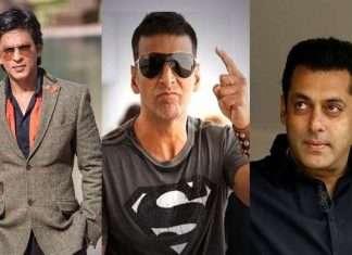 shahrukh khan, akshay-kumar and salman-khan