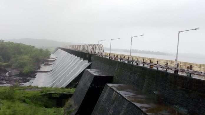 tansa dam overflow