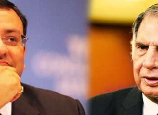 tata and Cyrus Mistry