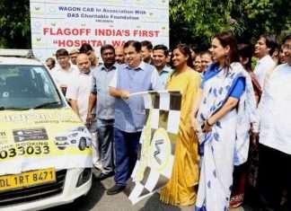 taxi ambulance service started in delhi