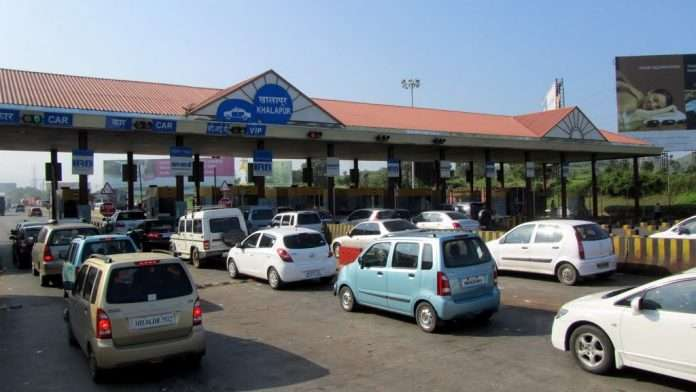 toll collection mumbai pune express way