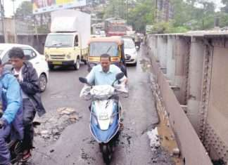 kalyans patri bridge demolition work start