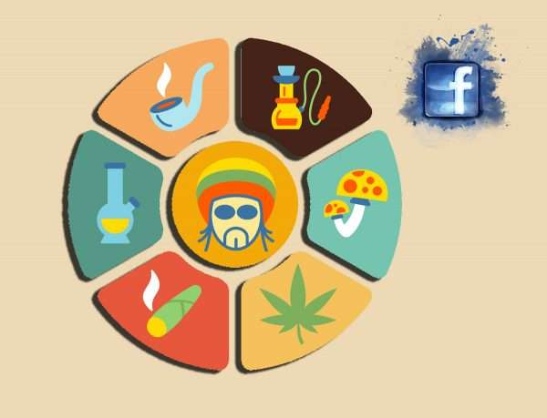 Facebook use for selling weed