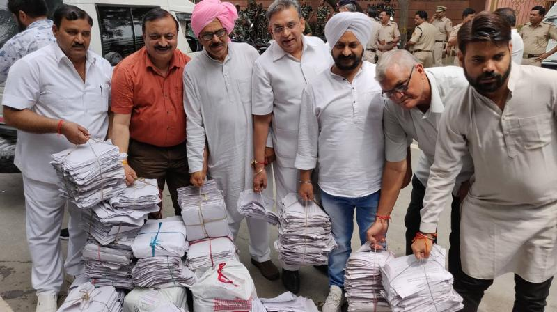 Aap send 10 lakh letters to Pm