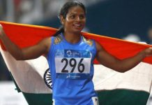 dyuti chand wins silver medal