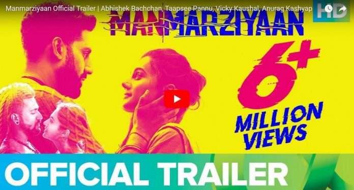 manmarziyan trailer