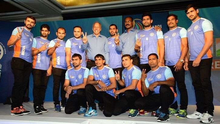 men kabaddi india team