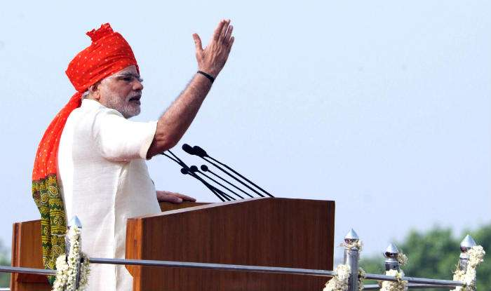 Narendra modi from red fort
