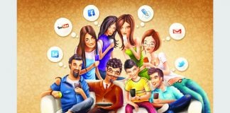 youngster use social media