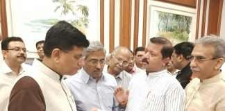 Railway minister Piyush Goyal,