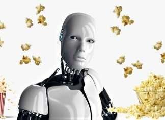 robot on popcorn energy