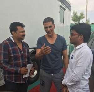 Akshay Kumar met Palshichi P T director