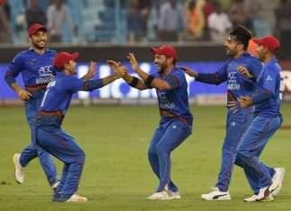 India vs Afganistan match tie