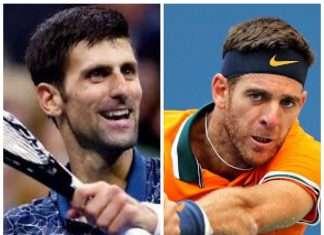 Juan Martin del Potro vs Novak Djokovic