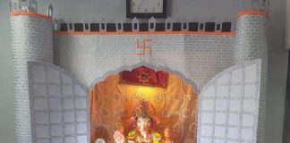 Namrata Kalsekar's Eco Friendly Bappa