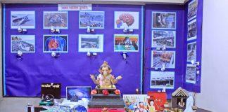 ravindra chitnis give plastic free message through ganesh festival
