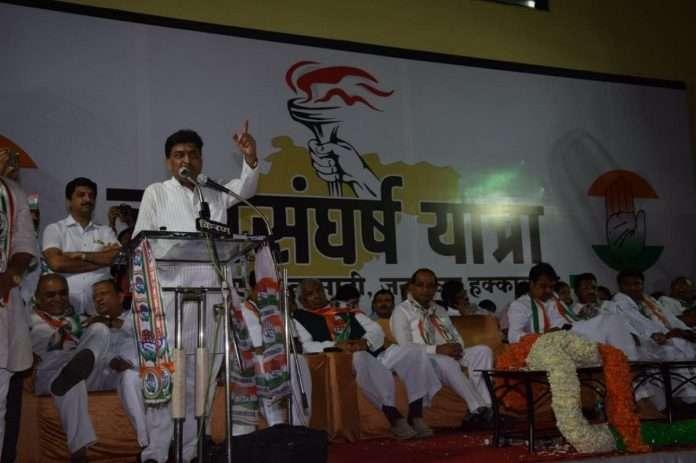 Charge tax on Modi and Fadnavis speech - Ashok Chavan