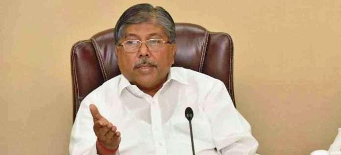 Revenue Minister Chandrakant Patil