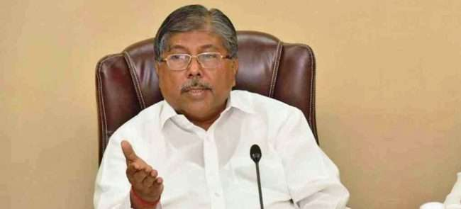 Revenue Minister Chandrakant Patil