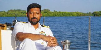 Navy officer Abhilash Tomy rescued from Indian ocean