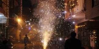 40 people were burnt to Diwali in Mumbai