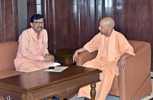 sanjay raut met yogi adityanath