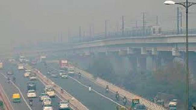 Delhi air quality is poor