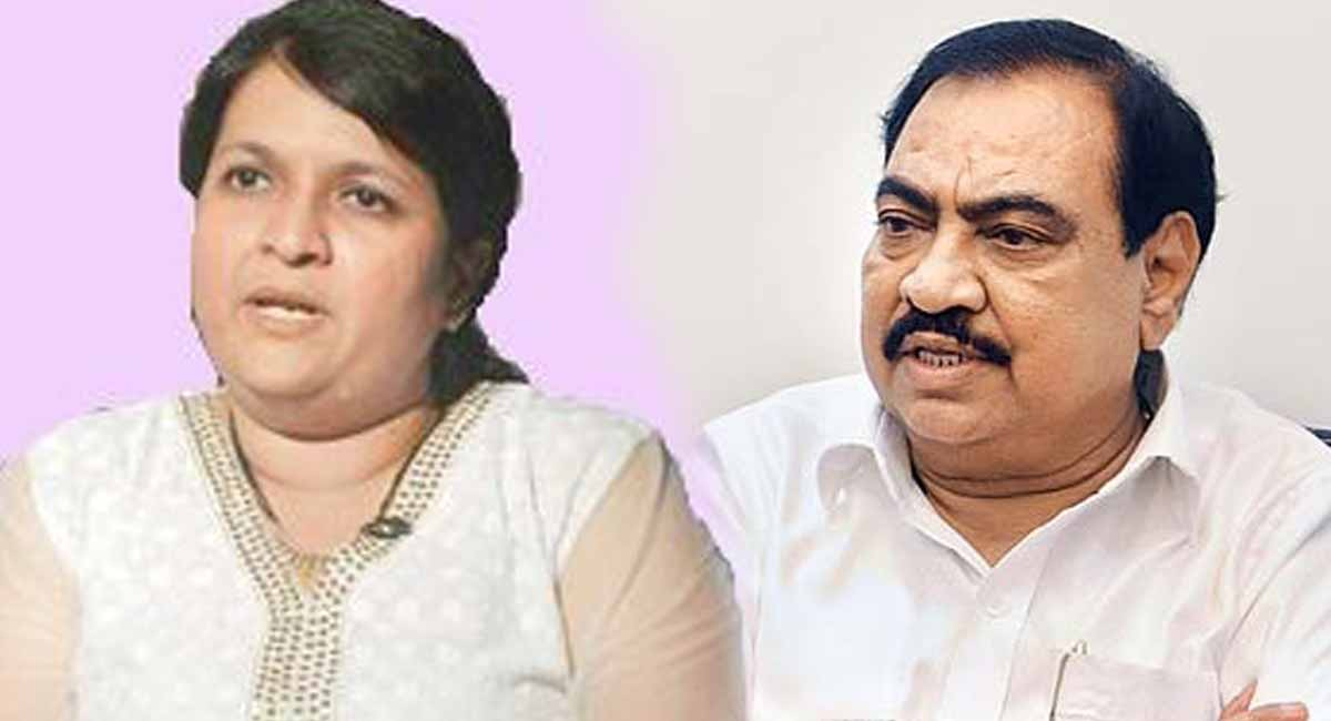 Anjali Damania defamation case by Eknath Khadse