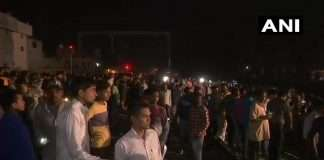 Train accident in Amritsar Of Punjab
