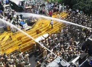 Uttar Pradesh farmers Bhartiya Kisan union trying to enter delhi border sealed,राजधानी दिल्ली,किसान क्रांती पदयात्रा,उत्तर प्रदेश